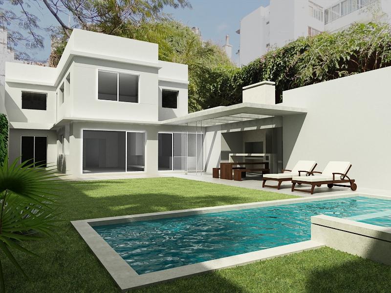 Casa roque graseras dise o arquitectura moderna uruguay - Arquitectura casas modernas ...