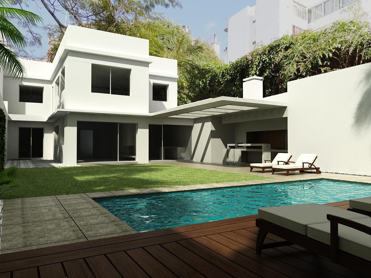 Casa roque graseras dise o arquitectura moderna uruguay for Arquitectura de casas modernas planos