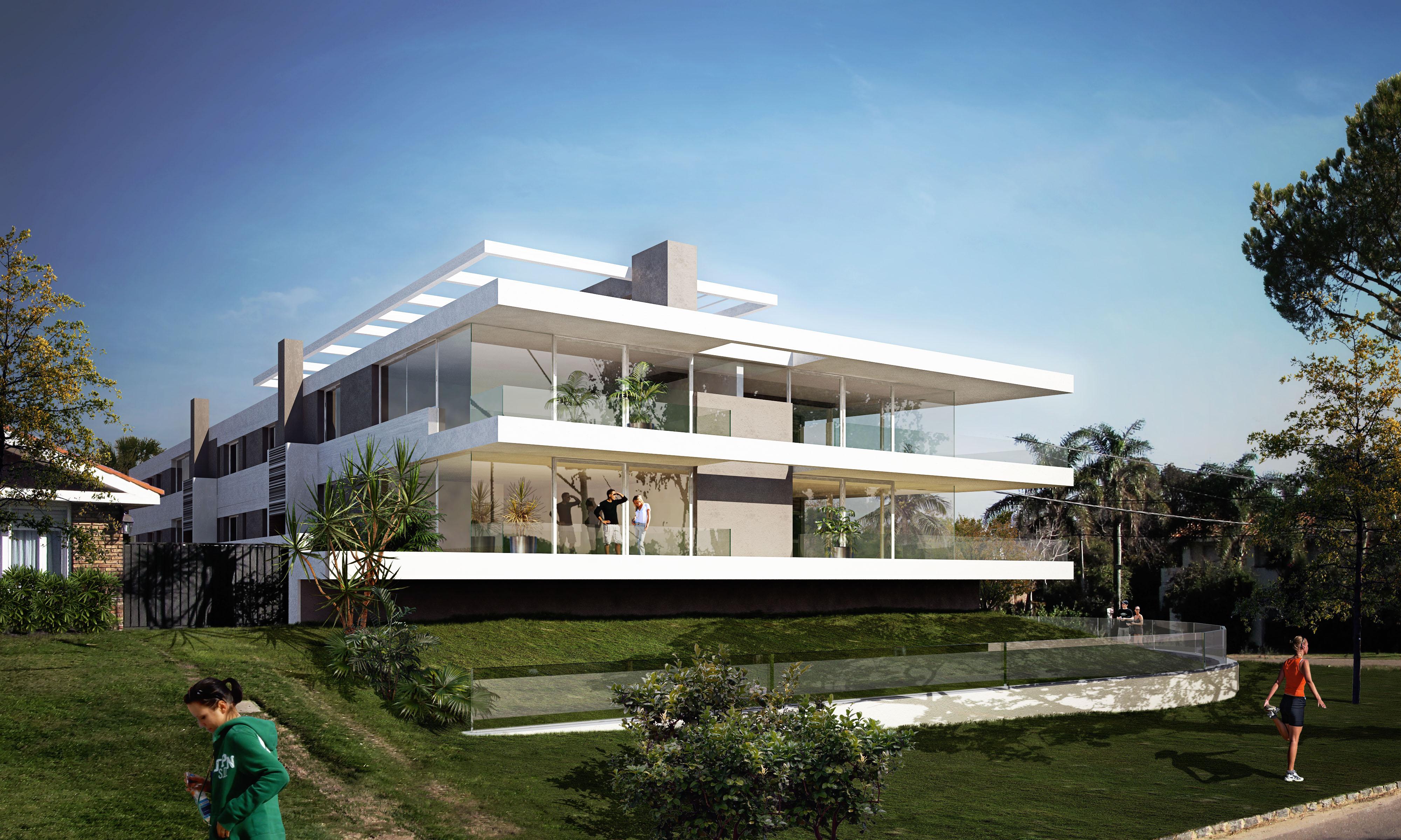 Icon lido arquitecta karin bia estudio arquitectura for Casa minimalista uruguay
